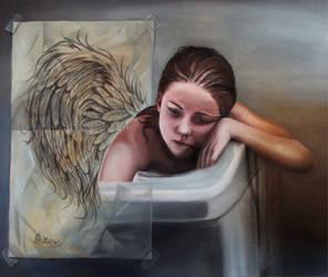 Sad Angel by sheeroo3