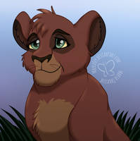 A Much Younger Kovu by MaeraFey