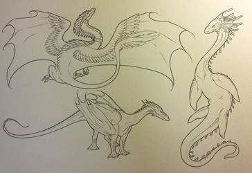 Sketches 24.11.16 by ElorenArt