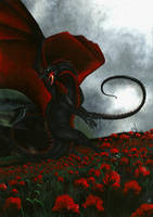 Field of blood by ElorenArt