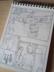 Comic snik pik no.1 by ElorenArt