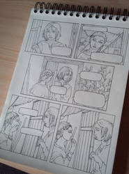 Comic snik pik no.2 by ElorenArt