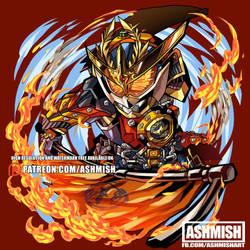 KR Gaim Kachidoki Arms by ashmish
