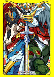 Ultimate Dragon Warrior by ashmish