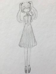 1940s Miku by FrillMaiden