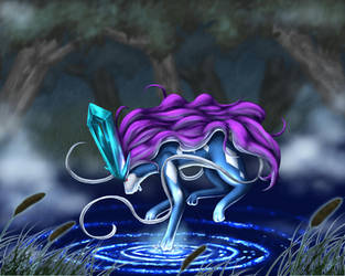 Purification - Suicune by crateshya
