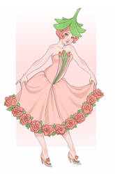 La Fee des Roses by Chpi