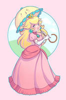 Princess Peach by Chpi