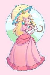 Princess Peach by Chpi