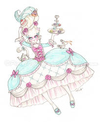 Toinette in Wonderland by Chpi