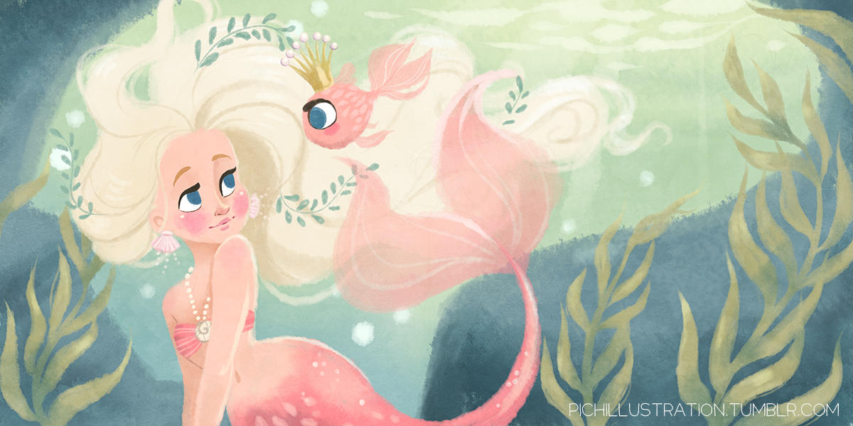 The Fish Princess by Chpi
