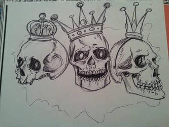 Skulls n Crowns by KittTheKat