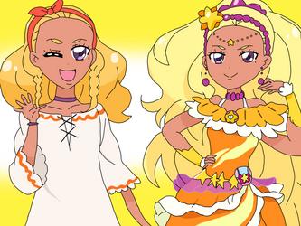 Cure Soleil by cartoonobsessedSTAR1