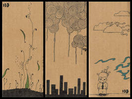 triptych by shwayday