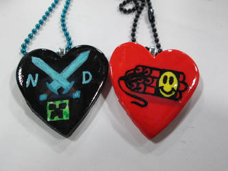 Team Nice Dynamite Necklaces by Saint-chan