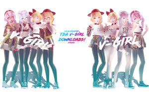 DL:TDA V-GIRL 1.5ver [kpopxvocaloid] by ThisisKENZ