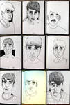 Self portraits by stopsnitching