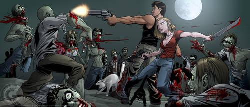 Zombie Apocalypse by GarthFT