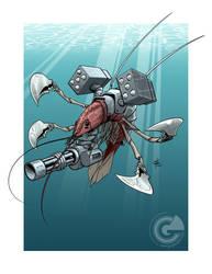 Battle Shrimp by GarthFT
