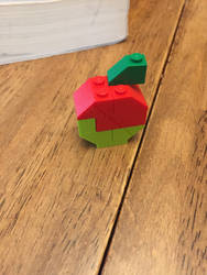 Mini LEGO apple  by liamfophotography