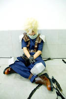 Crisis Core -Sleeping Cloud- by Jesuke