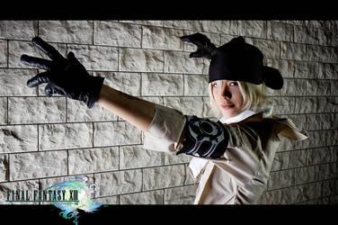 FFXIII -  Snow Villiers by Jesuke