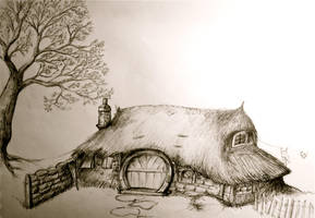 Hobbit House by SilverSpectrum23