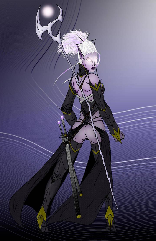 Dark Elf Armor by ModelOmega