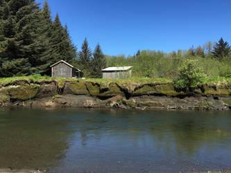 Kowee Creek, 2: cabin close-up by cmmdrsigma