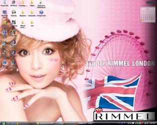 Rimmel Ayu-Chan Desktop by LocaChoca
