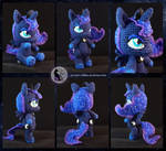 Princess Luna - chibi crochet toy by LilSy-workshop
