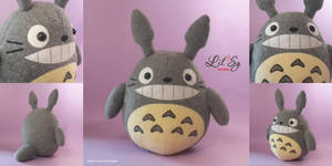 Totoro plush by LilSy-workshop