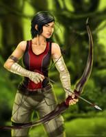 Katniss Everdeen by TheAngryMammoth