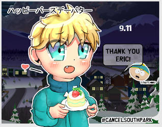 //Happy Birthday Butters - 9.11// by PandaHaze