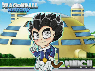 DragonBall West City - Pinich by PandaHaze