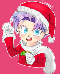 Christmas Kid Trunks by PandaHaze