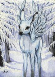ACEO Frosty Wings by DawnUnicorn
