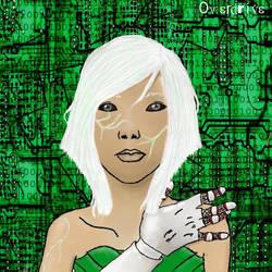 Technology Overload by JezahnaART