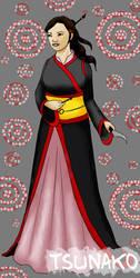 Tokuguwa Assassin Tsunako... by JezahnaART