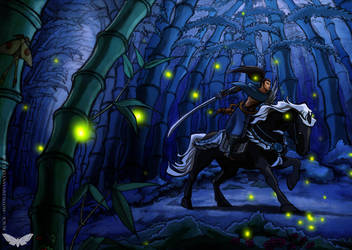 Yasuo - A Horse Is Good Company by Black--Moth