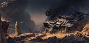 Alien planet by Vagrantdick