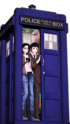 [MMDxDW] The Doctor has arrived by Gabriella112