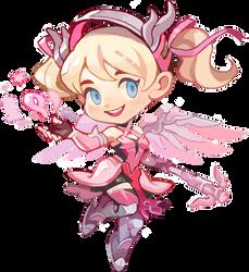 Pink Mercy spray(f2u?) by HanaGluskin