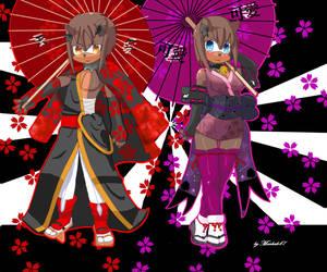 Kimono Lovers by markak47
