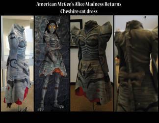 Alice Madness Returns Cheshire Cat Dress by AlchemyGaara