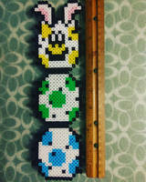 Super Mario Easter Pokey by perler-me-this