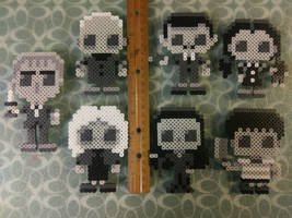 The Addams Family by perler-me-this