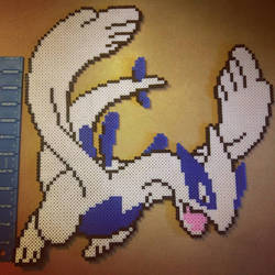 Lugia Giant Size by flamingolicious