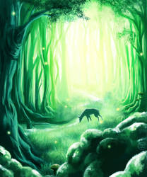 Ancient forest by noksindra