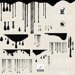 Brushes   Gouttes by ouksha